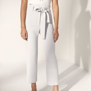 Wilfred Tie-Front Pant, Sz 2, OPAL GREY